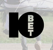 Trotting image with the 10bet logo