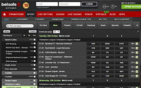 Betsafe Sports Screenshot 3