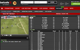 Betsafe Sports Screenshot 4