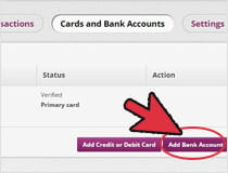 Bank account link with Skrill