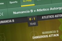 Watch live events from the Bet365 console