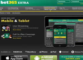 Features of the bet365 mobile app