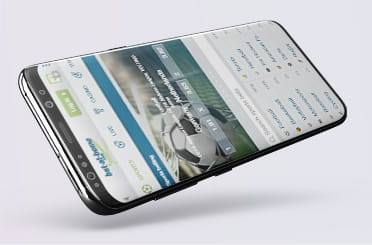 The bet-at-home mobile app on Android