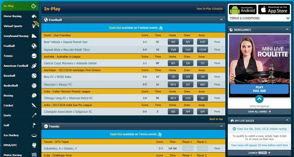 K8 Betting