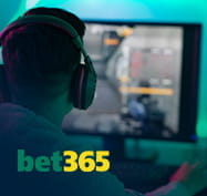 Esports betting and bet365 logo