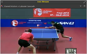 bet365 offers live streams on many different sports and events