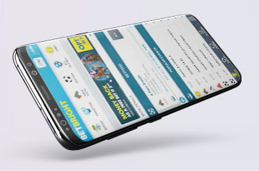 BetBright mobile app on Android