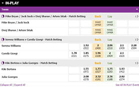 A view of the BETDAQ in-play arena  width=