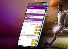 Betdaq mobile app and sports people