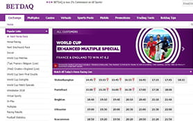 A view of the BETDAQ sports betting portal  width=
