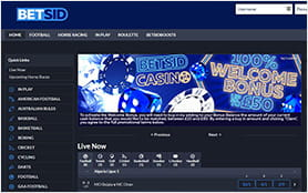 Home directory of BetSid sportsbook