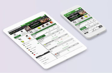 Betway mobile app on iPhone and iPad