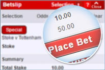 Make the qualifying bet of at least £10 or greater