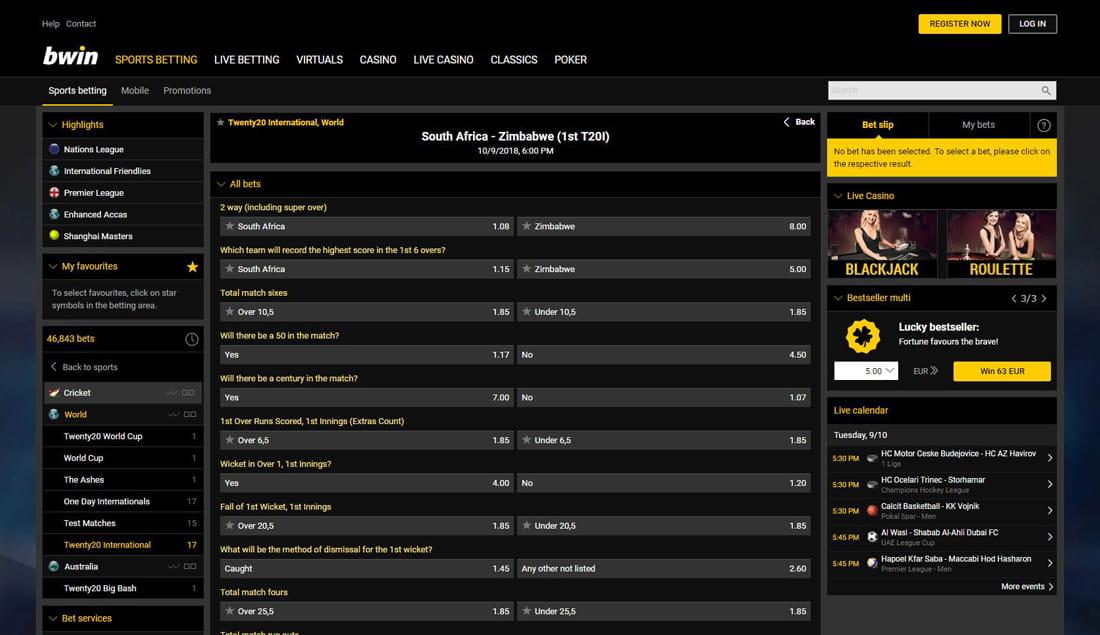 Online cricket betting websites in england steelers ravens betting line