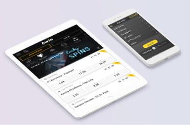 The bwin mobile app on iPhone and iPad