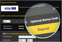 how to make a deposit at bwin