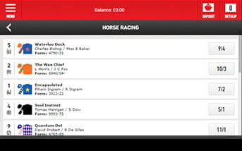 Ladbrokes mobile app makes betting on horses easy