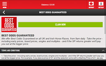 Ladbrokes bring all the latest promotions direct to your mobile