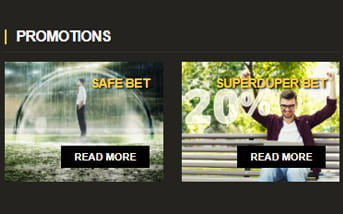 Betting promotion at LV BET mobile app