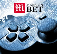 The MansionBet logo with a controller