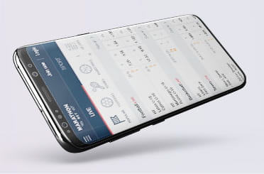 Marathonbet mobile app on Android