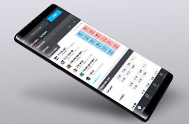 Matchbook mobile app on Android