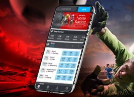 Matchbook mobile app and sports people