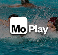 Water Polo image with the MoPlay logo