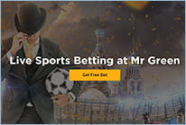 Enjoy the full benefits of your £10 free bet at Mr Green