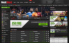 NetBet Sports Screenshot 1