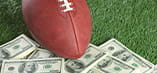 NFL image with dollar bills