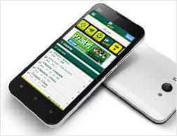 Android devices that can run the Paddy Power mobile app