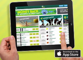 At a glance overview of the Paddy Power mobile app