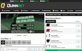 Home directory of QuinnBet sportsbook