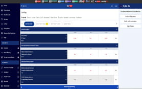 Sky Bet in-play page