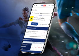 Sky Bet mobile app and sports people