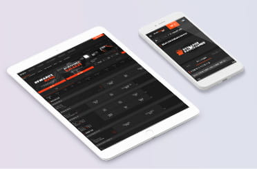 SportNation mobile app on iPhone