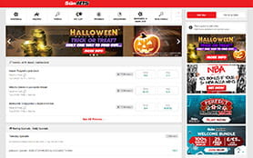 A look at the Sun Bets desktop platform