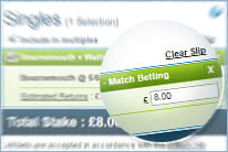 To get the bonus you need to wager minimum 5pound