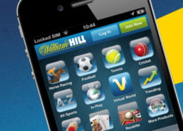 At a glance overview of the William Hill mobile app