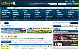 On the frontpage you get an detailed overview of the available betting markets