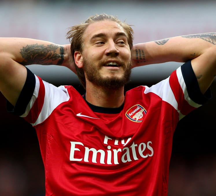 Bendtner is our choice
