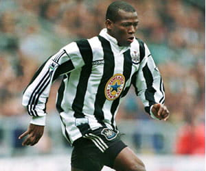 Newcastle player Tino Asprilla
