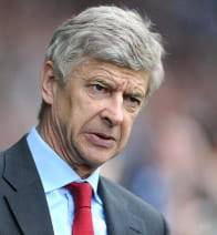 arsenen wenger from arsenal