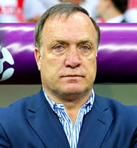 dick advocaat's stern look
