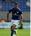 Riyad Mahrez playing