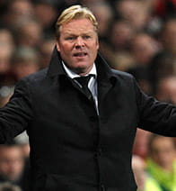 ronald koeman is not pleased