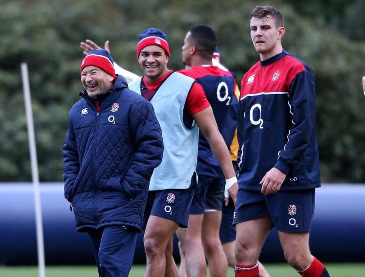 Eddie Jones & England's new young guns