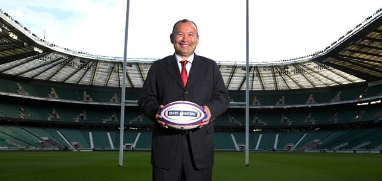 New England head coach Eddie Jones