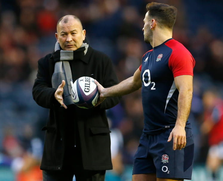 Eddie Jones & Danny Care